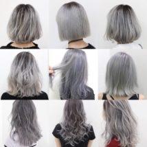 ホワイトヘアカラー