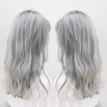ホワイトアッシュヘアカラー